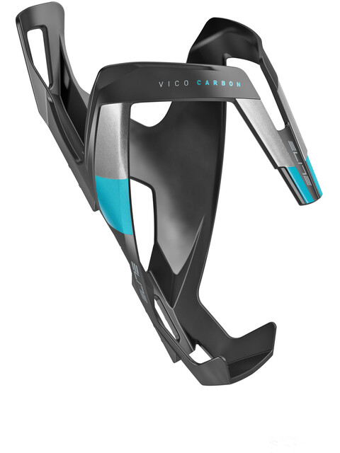 Elite Vico Carbon Bidonhouder blauw/zwart